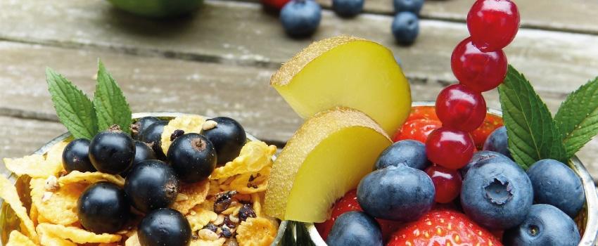 Gesundes Obst zum Detoxen.