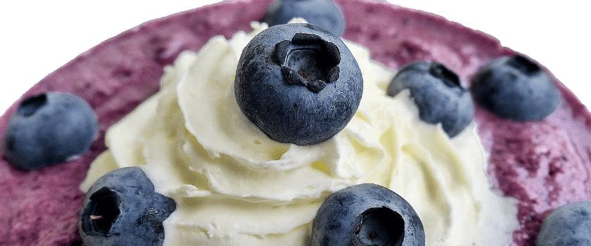 Heidelbeeren Dessert
