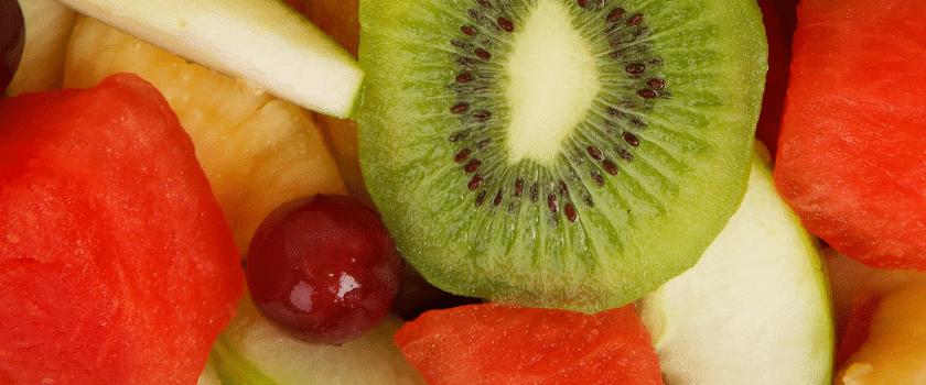 Ernährungsumstellung mit frischem Obst