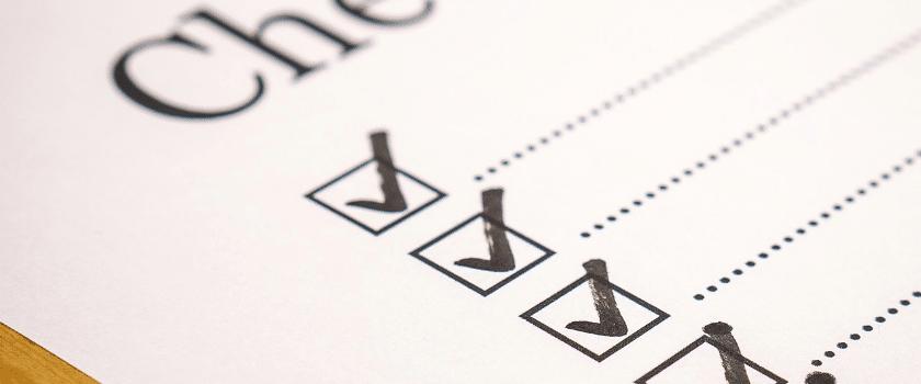 Fodmap Diät Checkliste