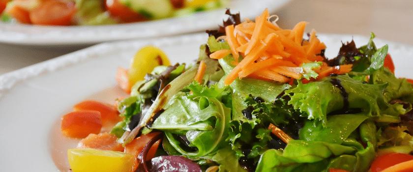 Volumetrics Diät Gemischter Salat