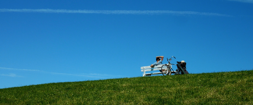 Schrothkur Grüne Wiese und blauer Himmel