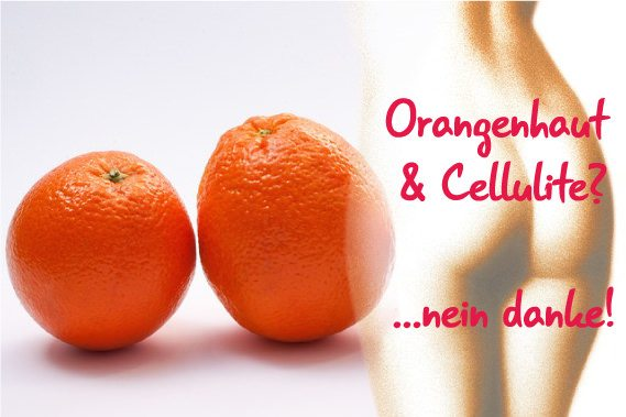 Cellulite wegbekommen - was ist Orangenhaut?