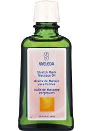 Straffes Bindegewebe kann man auch mit Weleda's Massageöl erreichen.