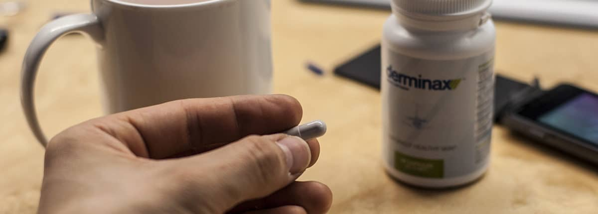 Auf die Dosierung sollte bei der Einnahme von Derminax Acht gegeben werden