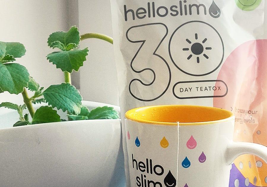 Das Produkt, das für die Hello Slim Erfahrung zur Bestellung angeboten wurde